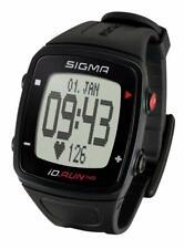 Laufuhr Sigma iD.Run HR schwarz GPS Pulsuhr Sportuhr Activity Running Computer
