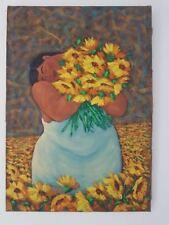 painting. peinture style Yue Minjun botero......