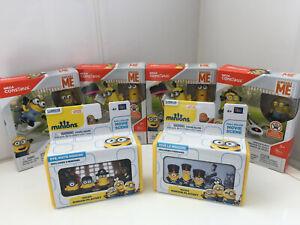 Despicable Me Minions Bundle Mega Construx & Mini Scenes Mixed Lot Toy Figures