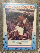1989-90 Fleer Michael Jordan All-Stars Stickers #3 Bulls HOF