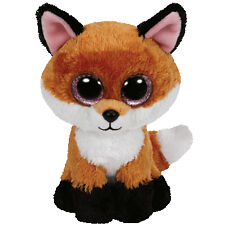Ty Beanie Boos Glubschis Buddies Fox Slick Brown 24 Cm Plush 2015 Collecting