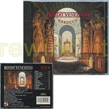 """RONDO' VENEZIANO """"BAROCCO"""" CD 1990 FUORI CATALOGO"""