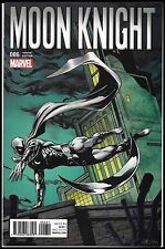 MOON KNIGHT #6 (2016) NM BOB HALL 1:15 CLASSIC RETRO VARIANT NETFLIX MARVEL