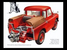 LAND ROVER 1957-1958 SERIES-I '88' RETRO POSTER PRINT CLASSIC ADVERT A3 !!!!