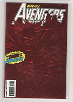 Avengers West Coast #100 red foil cover Iron Man Scarlet Witch Mephisto 9.2