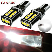 Pair T15 921 912 Backup Reverse Light LED TRUCK ERROR FREE Bulb Canbus Cargo OI