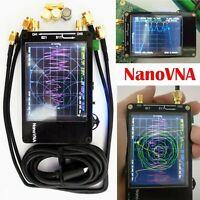 DIY NanoVNA Vector Network Analyzer MF HF VHF UHF Antenna Analyzer LCD + Battery