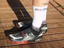 AntiDrag Aero Cycling Socks - Fade to White 39-47