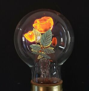 Vintage Aerolux Figural Rose Light Bulb