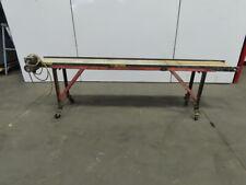 Aluminum 94 Slider Bed Belt Conveyor 11 12 Wide 32 Fpm 115v Single Phase