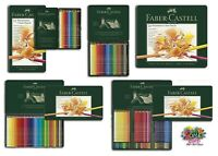 Faber Castell - Polychromos Artist pencils available in tins of 12, 24, 36, 60