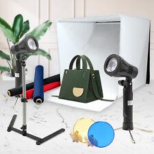 "24"" Photography Photo Studio Light Tent Backdrop Kit Cube Lighting Kit In A Box"
