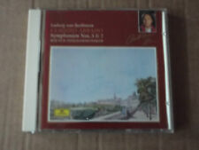 BEETHOVEN SYMPHONY No 5 & 7 - ABBADO / VPO CD 435 093-2 made in w germany  nm