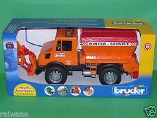 Bruder 02572 MB Unimog Winterdienst Blitzversand per DHL-Paket