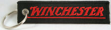 """Winchester Embroidered Key Chain, Firearms, Hunters, 4"""" key fob"""