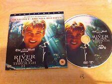 A RIVER RUNS THROUGH IT Robert Redford Starring Brad Pitt & Brenda Blethyn  DVD