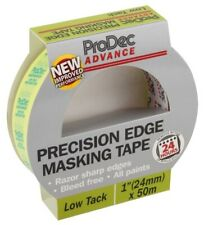 ProDec Advance Precision Edge Masking Tape 24mm x 50m Low Tack  [0192]