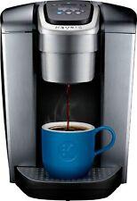 Keurig - K-Elite Single Serve K-Cup Pod Coffee Maker - Brushed Silver