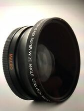 Wide Angle Lens for CANON XL1S XL1 XL2 XHA1 XHG XH-A1
