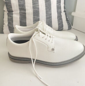 NEW G/Fore G4 GFORE Gallivanter Golf Shoes Sneaker ⛳️ US 10 ⛳️ White/Silver