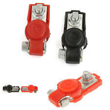 1 Pair Alloy Positive Nagative Car Battery Terminal Clamp Clips Connector