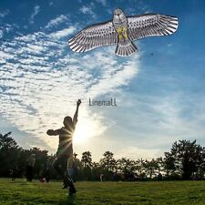 Huge Eagle Polyester Kite Scaring Bird Handmade Art Handicraft For Fun