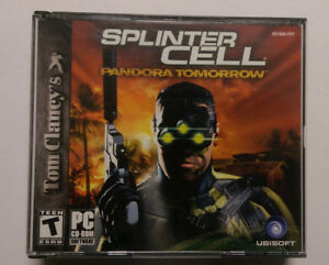 Tom Clancy's Splinter Cell: Pandora Tomorrow Vintage PC Game COMPLETE with KEY