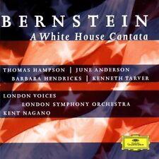 A WHITE HOUSE CANTATA - BERNSTEIN LEONARD (CD) KENT NAGANO