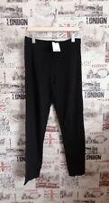 Nuevos Leggings Treggings Pantalones siguiente Negro Tamaño 18 Reino Unido Alto