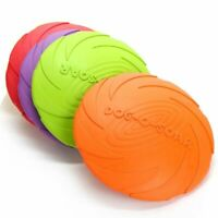 Dog Flying Disc Toy Pet Interactive Training Portable Outdoor Chew Toys Motion
