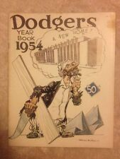 1954 BROOKLYN DODGERS BASEBALL YEARBOOK JACKIE ROBINSON Clean Fast Free Delivery