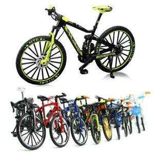Mini Fahrrad Modell Rennrad Mountainbike Spielzeug Collection Miniatur 1:10 s 07