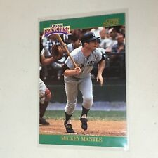 F53141  1992 Score Franchise #2 Mickey Mantle Yankees
