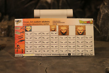 custom eyes stickers for s.h.figuarts dragon ball super goku black