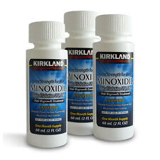 Kirkland Minoxidil 5%25 Extra Strength Men Hair Regrowth Solution 3 Month Supply