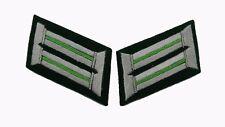 German WW2 Army officer collar tabs Gebirgsjager