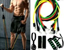 11Pcs Resistance Bands Set,Workout Bands,Exercise Bands for Muscle Training Home