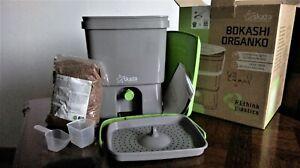 Skaza Bokashi Organko (16 L) Composteur, 1 kg EM Ferment
