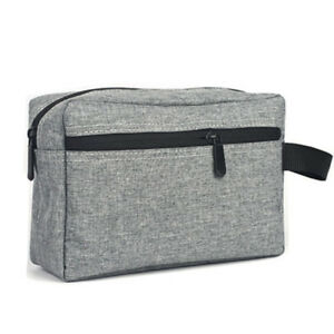 Mens Toiletry Wash Bag Shave Travel Pouch Shower Bag Organizer Kit Cosmetic Bag