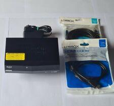 Bush HD Freeview Set Top Box CDVBT2 + NEW HDMI & RJ45 cables *NO REMOTE*