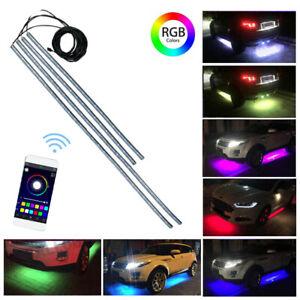 RGB LED Unterbodenbeleuchtung Atmosphäre Neon Licht Unterwagen Lampe APP Control
