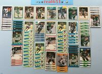 1982+ O-Pee-Chee Topps RON FRANCIS Lot x 78 Vintage | #123 Rookie | HOF Batch