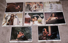 ROMEO AND JULIET original lobby card photo set OLIVIA HUSSEY/LEONARD WHITING