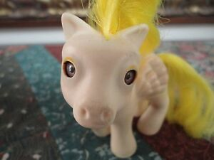 Vintage 1986 Hasbro My Little Pony Baby Lofty Sleepy Eyes 3 inch Generation 1