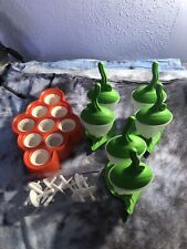 Tovolo Ice Pop Molds And Popsicles molds, lot of 4