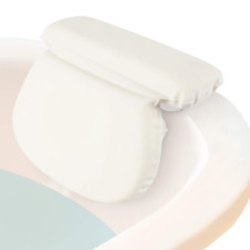 """Bath Pillow 2"""" Thick Bathtub Spa Cushion For Neck Shoulder And Head Support Hot"""