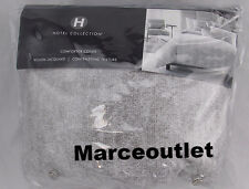 Hotel Collection Eclipse King Duvet Cover Heather Gray