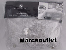 Hotel Collection Eclipse FULL / QUEEN Duvet Cover Heather Gray