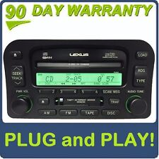 01 02 Lexus LX470 OEM Mark Levinson Radio Tape 6 Disc Changer CD Player P6808