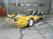 FERRARI 308 GTB Rallye Gr.4 San Remo 1981 #3 Pregliasco Olio Fiat Otto NEU 1:18